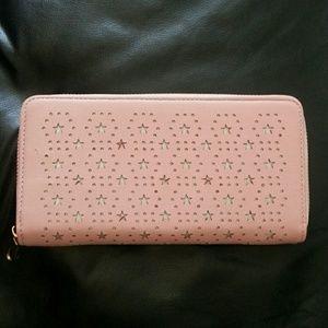 Handbags - 🆕⭐BABY PINK STARLIGHT WALLET🆕⭐